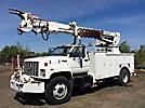 Telelect Commander 5000, Digger Derrick rear mounted on 1993 Chevrolet Kodiak Utility Truck