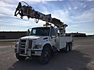 Telelect Commander 6000, Digger Derrick rear mounted on 2007 International 7400 T/A Utility Truck