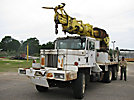 Telelect Commander II-60, Digger Derrick, rear mounted on, 1966 Zeligson 6x6 Flatbed/Utility Truck