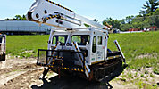 Telelect TX5000, Material Handling Bucket, rear mounted on, 1987 Go-Tract GT1000 All-Terrain Track Machine
