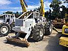 Telelect Telecon, Digger Derrick, rear mounted on Terex S8A Articulating Log Skidder