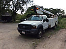 Telescopic Non-Insulated Bucket Truck mounted behind cab on 2005 Ford F450 Utility Truck
