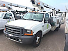 Telsta A28D, Telescopic Non-Insulated Bucket Truck mounted behind cab on 1999 Ford F350 Service Truck