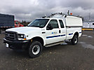 Telsta A37, Articulating & Telescopic Non-Insulated Bucket Truck mounted behind cab on 1999 Chevrolet C3500 Service Truck
