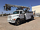Telsta T40C, Telescopic Non-Insulated Cable Placing Bucket Truck rear mounted on 1999 International 4900 Utility Truck