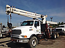 Terex, Hydraulic Crane, mounted behind cab on, 2001 Sterling LT9500 T/A Truck Tractor, BT2851