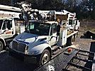 Terex Commander 4047, Digger Derrick, rear mounted on, 2007 International 4300 Utility Truck