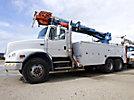 Terex Commander 4047, Digger Derrick rear mounted on 2000 Freightliner FL112 T/A Utility Truck