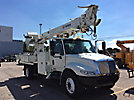 Terex Commander C4047, Digger Derrick, rear mounted on, 2004 International 4300 Flatbed/Utility Truck