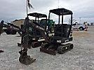 Terex TC16 Mini Hydraulic Excavator