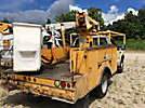 Terex TL38P, Articulating & Telescopic Bucket Truck mounted behind cab on 2003 Ford F550 Service Truck