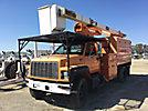 Terex XT55, mounted behind cab on 2000 GMC C7500 Chipper Dump Truck