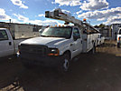 Terex/HiRanger SCII-42, Over-Center Bucket Truck center mounted on 2000 Ford F550 Service Truck