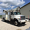 Terex/Telelect Commander 4045, Digger Derrick rear mounted on 2007 International 7300 4x4 Utility Truck