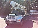 Terex/Telelect HiRanger 46-OM, Material Handling Bucket Truck rear mounted on 1998 International 4900 Utility Truck