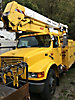 Terex/Telelect/HiRanger 46-OM, Material Handling Bucket Truck, center mounted on, 1999 International 4900 Utility Truck