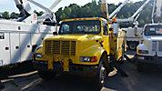 Terex/Telelect/HiRanger 46-OM, Material Handling Bucket Truck, rear mounted on, 2001 International 4900 Utility Truck