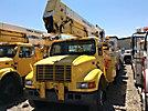 Terex/Telelect/HiRanger 46-OM, Material Handling Bucket Truck rear mounted on 2001 International 4900 Utility Truck