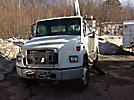 Terex/Telelect/HiRanger SC11, Over-Center Bucket Truck, center mounted on, 2003 Freightliner FL70 Utility Truck