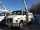Terex/Telelect/HiRanger SC45, Over-Center Bucket Truck, center mounted on, 2003 Freightliner FL70 Utility Truck