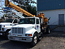 Texoma 270, Pressure Digger rear mounted on 1999 International 4700 Flatbed Truck