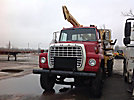 Texoma 500-15, Pressure Digger, rear mounted on, 1978 Ford LNT800 T/A Flatbed Truck