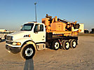 Texoma 650-25, Pressure Digger rear mounted on 2005 Sterling Acterra T/A Carrier
