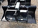 Tomahawk 66 Skid Steer Bucket, with Hydraulic Grapple (New/Unused)
