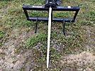 Tomahawk Skid Steer Hay Spear Attachment (New/Unused)