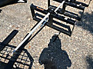 Tomahawk Skid Steer Hay Spear Attachment (New/Unused)