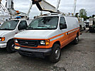UTEM UVN35A, Telescopic Non-Insulated Bucket Van, mounted on, 2006 Ford E350 Cargo Van