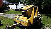 Vermeer SC752 Stump Grinder, trailer mtd