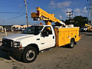 Versalift SST37EIH, Articulating & Telescopic Bucket Truck, mounted behind cab on, 2002 Ford F550 4x4 Service Truck