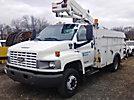 Versalift SST37EIH, Articulating & Telescopic Bucket Truck, mounted behind cab on, 2004 Chevrolet C5500 Service Truck