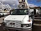 Versalift SST37NE, Articulating & Telescopic Non-Insulated Bucket Truck mounted behind cab on 2008 GMC C4500 Service Truck