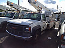 Versalift TEL29N, Telescopic Non-Insulated Bucket Truck, mounted behind cab on, 2000 GMC C3500HD Service Truck