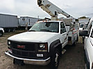 Versalift TEL29N, Telescopic Non-Insulated Bucket Truck, mounted behind cab on, 2002 GMC C3500HD Service Truck