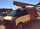 Versalift TEL29N, Telescopic Non-Insulated Bucket Van mounted behind cab on 2000 Chevrolet G3500 Cargo Van