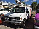 Versalift TEL29N, Telescopic Non-Insulated Bucket Van mounted on 1999 Ford E350 Cargo Van