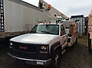 Versalift TEL29N02, Telescopic Non-Insulated Bucket Truck, mounted behind cab on, 2001 GMC C3500HD Service Truck