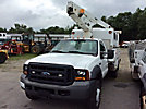 Versalift TEL29NE02, Telescopic Non-Insulated Bucket Truck, mounted behind cab on, 2006 Ford F450 Enclosed Service Truck