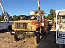 Versalift VO42MHI, Material Handling Bucket Truck, rear mounted on, 1999 Chevrolet C7500 4x4 Utility Truck