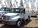 Versalift VST236I, Articulating & Telescopic Bucket Truck, mounted behind cab on, 2005 International 4300 Utility Truck