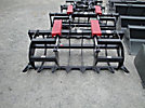 Versatech 72 Skid Steer Root Rake, with Hydraulic Grapple (New/Unused)