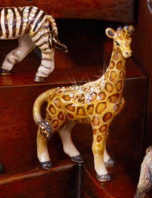 Twiga Giraffe Mini Figurine - Amber