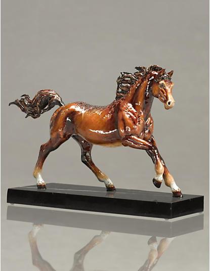 Kuhaylah Horse Figurine - Natural