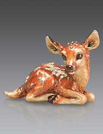 Jayne Fawn Mini Figurine - Natural