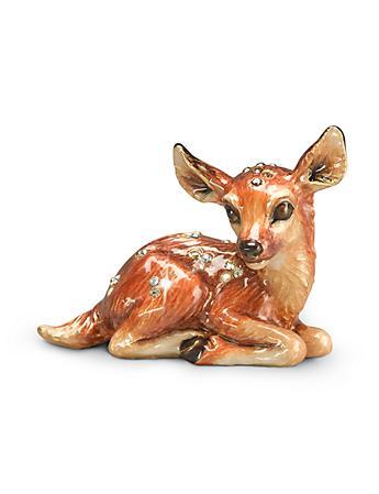 Jayne Fawn Mini Figurine - Natural