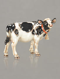 Elsie Cow Figurine - Natural