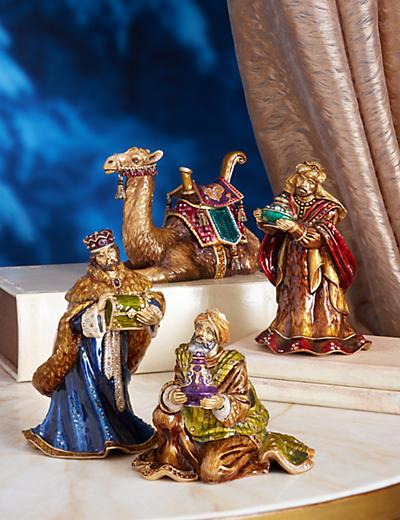 The Three Wise Men Figurines - Jewel